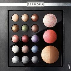 Create a winter wonderland of looks with this SEPHORA COLLECTION baked eye shadow & face palette. #Giftopia