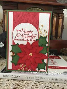 Poinsettia Cards, Christmas Poinsettia, Crochet Christmas, Christmas Ideas, Stamping Up Cards, Stamp Sets, Stampin Up, Card Ideas, Christmas Cards