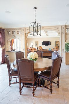 Tucson interior design tuscan old world italian french for Old world dining room ideas