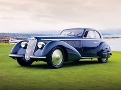 1938 Alfa Romeo 8C 2900B-very pretty!