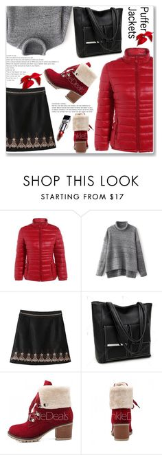 """""""Casual Puffer Jackets"""" by jecakns ❤ liked on Polyvore"""
