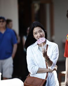 """Heirs"": Park Shin Hye Flirt Over Their Sweet Tooth : Couch Kimchi"