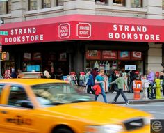 NYC. Manhattan. Strand Bookstore at Broadway near Union Square. A favorite for bookworms!