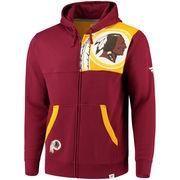 886623f49 Men s Washington Redskins G-III Extreme Burgundy Legacy Commemorative  Cotton Twill Jacket