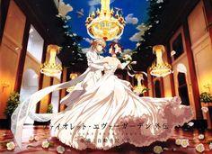 Violet Evergarden The Movie Official Art. on We Heart It Yuri, Manga Anime, Anime Art, Manga Art, Violet Evergreen, Violet Garden, Violet Evergarden Anime, Kyoto Animation, Some Beautiful Pictures