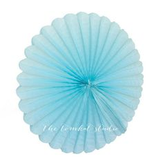 Tissue Paper Medallions - Light Blue for $2.99 from The TomKat Studio Party Shop