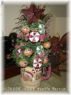 tole painting christmas | The Decorative Painting Store: Gingerbread Christmas Candy Tree ...