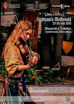 Sighisoara Medieval Festival July 23 to 2015 The theme of this year: minstrels and Mariachi – five centuries of medieval music and theater. The Beautiful Country, How Beautiful, Romania Tourism, Medieval Music, Violin Lessons, Great Inventions, How To Treat Acne, Ancient History, 3d Printing