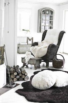 Swedish design clean rustic look