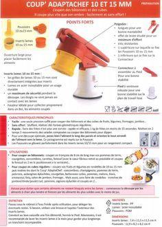 Fiche produit Tupperware: Coup adaptachef