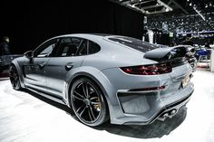 The Porsche Carrera GT earned some notoriety several years ago when it figured in the tragic death of actor Paul Walker. Porsche Panamera Turbo, Power Cars, Sports Sedan, Car Shop, Ford Gt, Amazing Cars, Car Car, Sport Cars, Luxury Cars