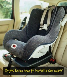 Do you know how to properly install a car seat? We've got car seat safety tips to get you on the right track!   http://blog.toyotaoforlando.com/2015/09/learn-car-seat-safety-for-child-passenger-safety-week/
