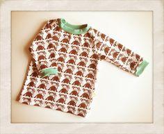 Endnu en søde lille trøje til Manse - abetrøjen ;0) - Handmade by LS www.lisbeth-s.dk