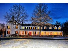 Magnificent 2.5 Sty Colonial situated on 2 acres in the Village of Country Life Acres. | Town and Country, MO