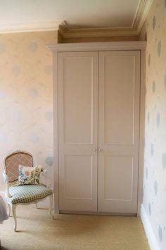 Bespoke Edwardian fitted wardrobe solution in Cheltenham, Cotswolds
