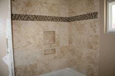 ... Bathroom on Pinterest  Tile showers, Home depot and White tile shower
