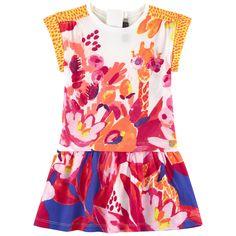 Catimini - Toddler Girl Timbuktu Giraffe Dress - 1