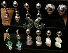 All my earrings are  $3.00