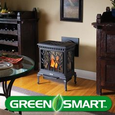 Beautiful Gas Heating Stove! Perfect for warming small & medium spaces.