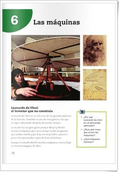"""Find magazines, catalogs and publications about """"conocimiento del medio"""", and discover more great content on issuu. Science, Language, Simple Machines, Interactive Activities, Science Projects, Inventors, Knowledge, Languages, Language Arts"""