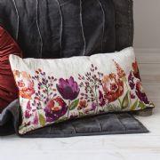 Isabella Rectangle Burnt Orange Cushion - £35   brandinteriors.co.uk