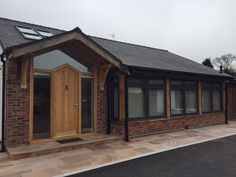 Eclectic Grey Residence 9 installation by Central Windows Gazebo, Pergola, Extension Ideas, Porch, Home Improvement, Shed, British, Outdoor Structures, Cabin