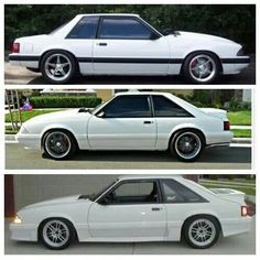 Nice Fox body Mustangs!