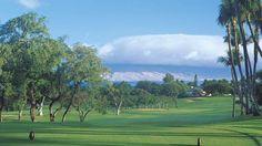 Wailea Old Blue Golf Course on Maui