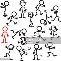 Image result for social worker stick figure