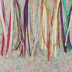 Ribbons, ribbons, ribbons! Monday is looking to be a colourful day! #libertyprint #libertyprintwand #party #ribbons #birthdaygift #thatsdarling #lifeupclose #momentsofmine #livecolourfully #colourfullife #wand #handmade #handmadeinpembrokeshire #etsy