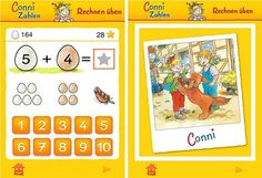 Conni Zahlen 1-10 | iPad iPhone Kinder Lern-App