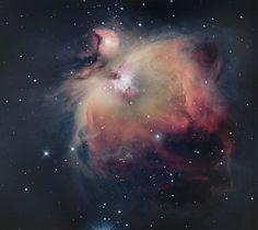 Orion Nebula M42, al pal