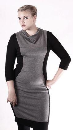 Minikleider - NARA ® Elegantes Schlankeffekt Kleid  - ein Designerstück von Berlinerfashion bei DaWanda