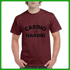 Ugo Cardio is Hardio Gym Workout Fitness Exercise Sport Transformation Apparel Gift 4 Best Friend Christmas Men's T-Shirt Tee - Workout shirts (*Amazon Partner-Link)