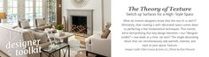 The Theory of Texture - Switch up Surfaces for a High-Style Space | Joss and Main