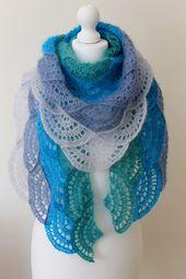 Ravelry: Seaside shawl pattern by Anna Nikipirowicz