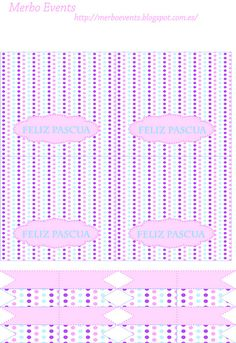 Printable kit imprimible pascua Merbo Events by Merbo Events, via Flickr