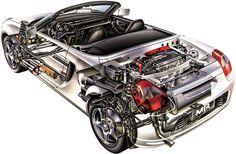 car cutaways - Recherche Google