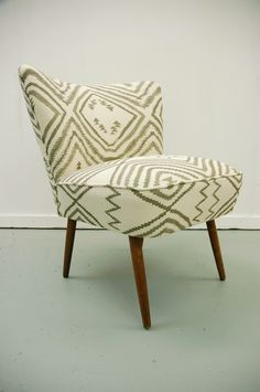 1950s RETRO MID CENTURY MODERN COCKTAIL EASY CHAIR