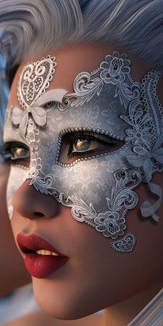 Debajo de un antifaz es mas fácil buscar un sueño, empezar una ilusión ó encontrar un nuevo amor... ... ...
