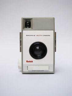 Kodak Brownie Vecta,1963, design by Kenneth Grange