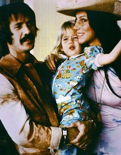 Sonny & Cher with their daughter, Chastity Bono. Celebrity Couples, Celebrity Photos, Tom Selleck Movies, Cher Photos, I Got You Babe, Cher Bono, Stars Then And Now, Vogue Magazine, Celebs