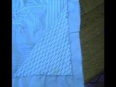 Tutoriel Boutis : Point de Vauvert - Embroidery tutorial - YouTube