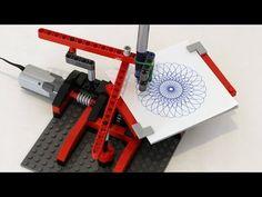 Simple Drawing Machine | JK Brickworks