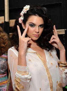 Queen Kendall — newsjenner: September 13: Kendall backstage at...