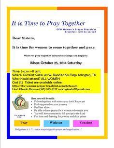 prayer breakfast program sample - Google Search | Church ideas ...