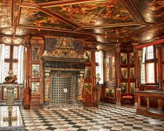 Christian Winter Room - Rosenborg Castle (Rosenborg Slot) is a renaissance castle located in Copenhagen, Denmark. Mansion Interior, Interior And Exterior, Rosenberg Castle, Denmark Castles, Odense, Copenhagen Denmark, Scandinavian, Beautiful Places, Around The Worlds