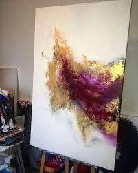 Resultat d'imatges de golden painting contempo
