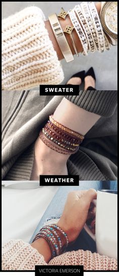 SALE! Handmade Leather Wrap Bracelets from $21 at Victoria Emerson. Sale Ends Feb 24th, 2016.