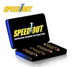 Speed Out - Schroef verwijderset #speedout #schroefverwijderset #doorgedraaideschroevenverwijderen #bekendvantv